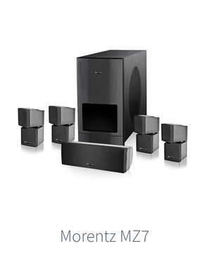 MORENTZ MZ-7 PLATINUM HOME SERIES 5.1/ PROFESSIONAL STUDIO SURROUNDED SOUND SYSTEM STATE OF THE ART TECHNOLOGY for Sale in Fort Lauderdale, FL