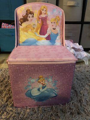 Princess storage chair kids for Sale in Lavallette, NJ