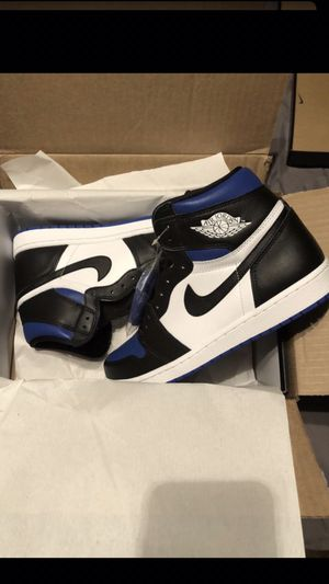 Jordan 1 retro royal toe size 10 new/box for Sale in Houston, TX