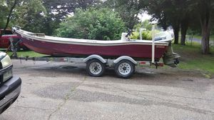 1988 old timer with a 1980 115 Evinrude for Sale in King George, VA