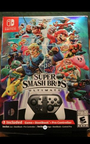 Nintendo switch smash bros ultimate collectors edition box set for Sale in Marysville, WA