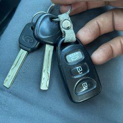 Hyundai Sonata Control Keys for Sale in Rancho Cucamonga,  CA