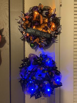 "Halloween wreaths 8"" $15 for Sale in Fountain Valley, CA"