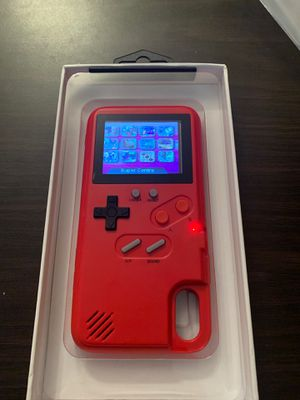 IPhone X XS Gameboy Case for Sale in Fort Worth, TX