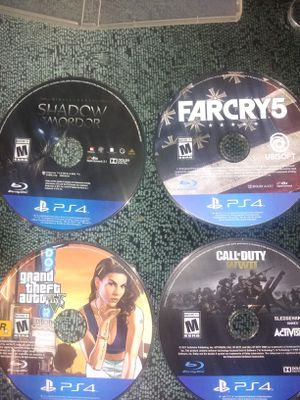 PS4 (GAMES) for Sale in Fort Worth, TX