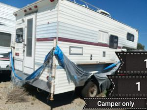 1978 wilderness camper for Sale in Banning, CA