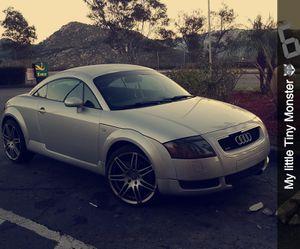 Audi tt 2003 quattro Stick Shift for Sale in Fallbrook, CA