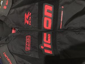 Suzuki performance R GSX icon motorcycle leather for Sale in New York, NY