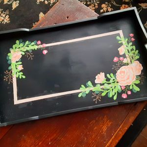 Beautiful Hand Painted Tray for Sale in Lake Stevens, WA