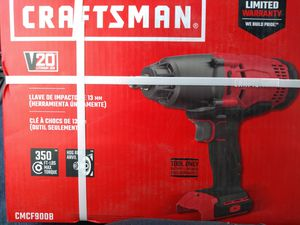 Craftsman 20v impact wrench for Sale in St. Peters, MO
