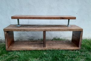 Handmade Wooden TV Stand for Sale in Framingham, MA