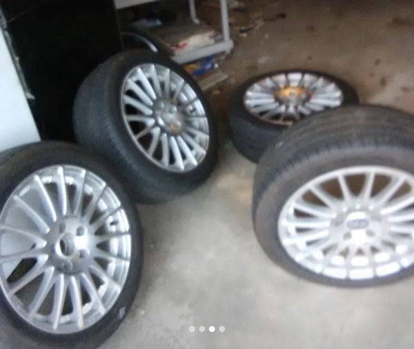 OZ Racing Wheels 17x7.5 5x114.3 For Sale Fits Honda's For
