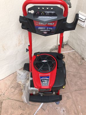 Never been used sells for 499 asking $200 brand new Troy built pressure washer for Sale in South San Francisco, CA
