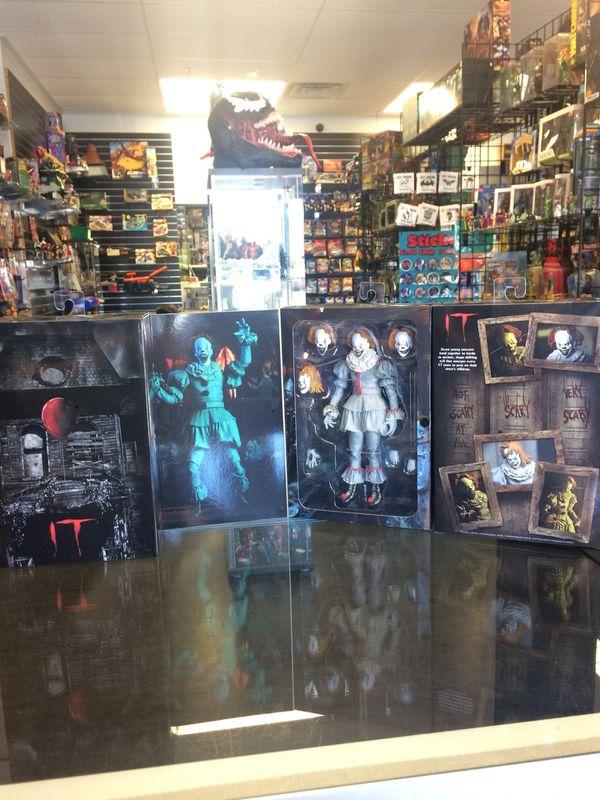 Neca Reel Toys IT action figure