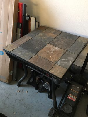 Tile table for Sale in Manteca, CA