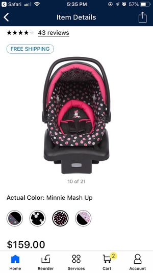 Cosco Disney Minnie Mouse Car seat for Sale in New Salisbury, IN