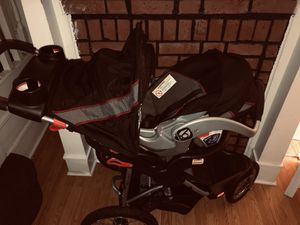 Baby Trend Travel System - Stroller & Car seat with base for Sale in Philadelphia, PA