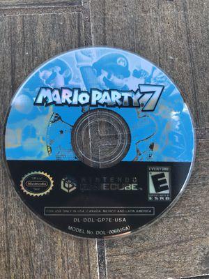 Mario Party 7 Nintendo GameCube for Sale in Tampa, FL