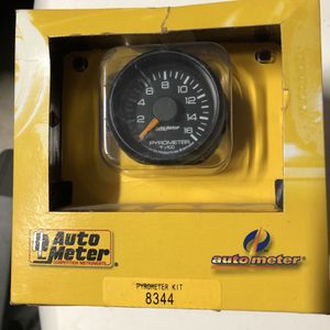 """AutoMeter 8344 Chevy Factory Match Electric Pyrometer Gauge Kit 2-1/16"""" for Sale in Boca Raton, FL"""