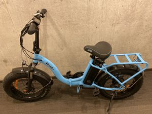 VeeGo Fat Tire electric bike that folds in half for Sale in Portland, OR