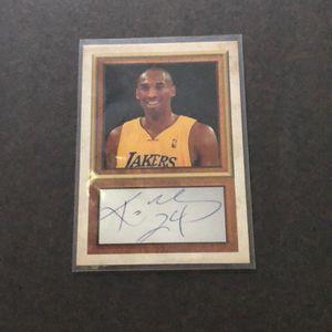 Kobe Bryant Basketball Card for Sale in Merritt Island, FL