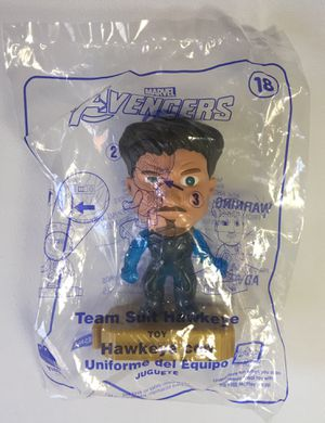 McDonald's Marvel Avengers Toy #18 Team Suit Hawkeye for Sale in Los Angeles, CA