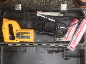 Dewalt sawzall drill and sander all corded for Sale in Houston, TX