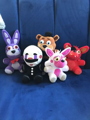Fnaf plushies for Sale in Los Angeles, CA