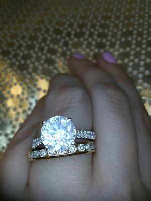 3 carat diamond engagement ring certified for Sale in Atlanta, GA