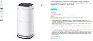 【Brand New】Dehumidifier 140 Pints 17 Gallons, Selling at $700 now at $579 for Sale in Queens, NY