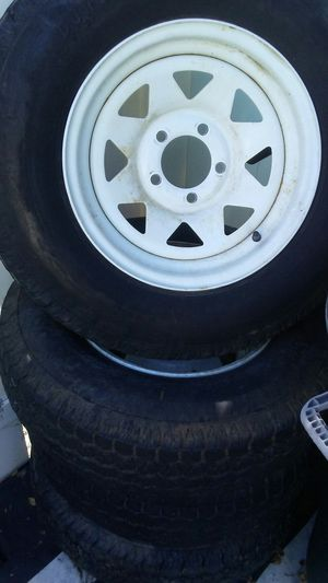 Trailer tires 13/14/15 for Sale in Suitland, MD