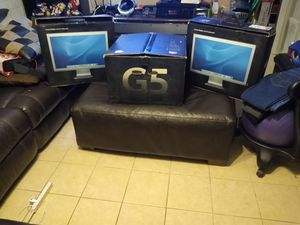 "Power Mac G5 w/dual 20"" Monitors for Sale in Phoenix, AZ"