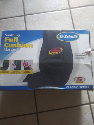 Dr Scholl's Seat cushion massager for Sale in Dunnellon, FL