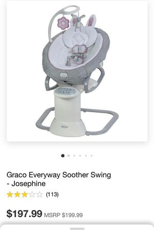 Graco Everyway Soother Swing for Sale in Houston, TX