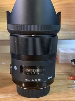 Sigma 35mm 1.4 Art for Nikon for Sale in Lone Tree,  CO