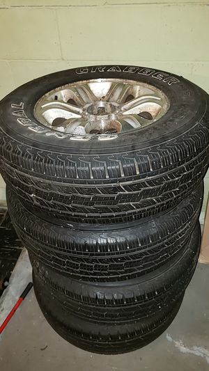 Set of 4 tires and rims off an Isuzu Rodeo for Sale in Combined Locks, WI