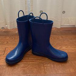 Size 4 Older Boys Blue Rain Boots for Sale in Walnut,  CA