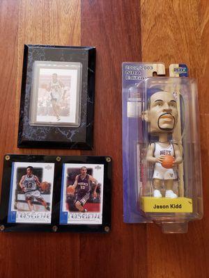 Jason Kidd New Jersey Nets NBA basketball memorabilia for Sale in Gresham, OR