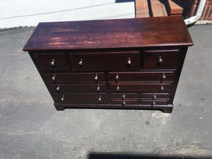 Very good condition hardwood dresser for Sale in Watertown, MA