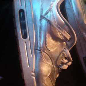 Nike Air max all Silver DS17's for Sale in Oklahoma City, OK