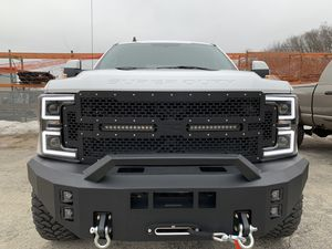 Superduty Bumper & Winch , LED lights , LED Grille Combo for Sale in Joliet, IL
