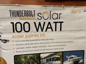 THUNDERBOLT MAGNUM 100 Watt Solar Panel Kit for Sale in Daly City, CA