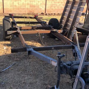 16ft Trailer Frame NEW Axel And Tires With Title for Sale in Mesa, AZ