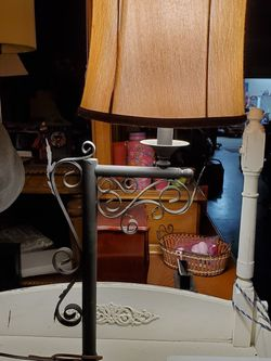 Ornate Ornamental Cast Iron Lamp for Sale in Cypress,  CA