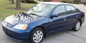 2003 Honda Civic EX sedan Low Low Low miles Reliable,Dependable,Sunroof Automatic for Sale in Pompano Beach, FL