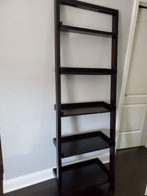 Ladder Bookshelf Expresso color for Sale in Des Plaines, IL