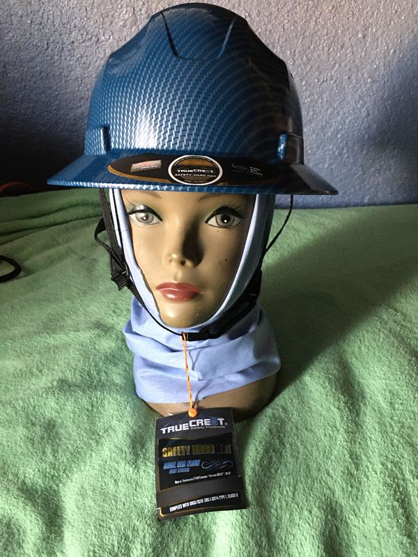 Fiberglass safety Hard Hat and Cooling Head Gaiter