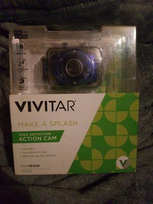 Vivitar Action Camera Blue 720p HD for Sale in Colorado Springs, CO