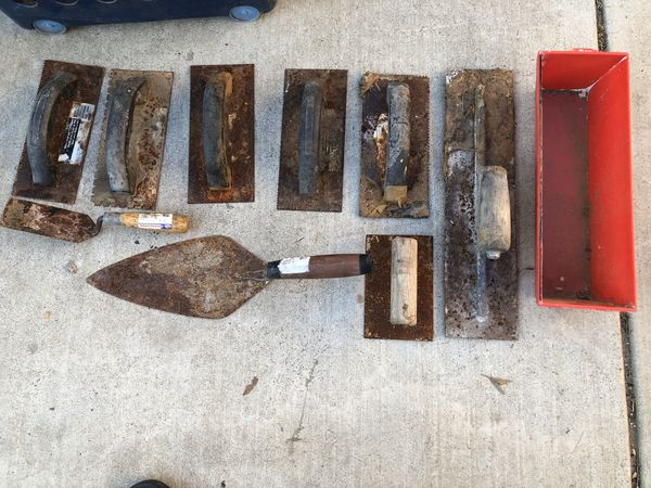 Trowels (everything in picture)