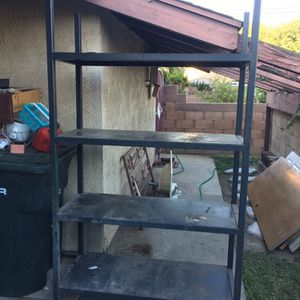 Handmade Heavy Duty Shelf Shelve Metal Rack for Sale in Lakewood, CA